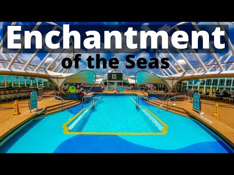 Enchantment of the Seas Royal Caribbean Video Tour Walkthrough