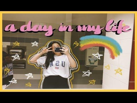 [VLOG] 🌸🌈  MỘT NGÀY ĐI HỌC CỦA TRÂN 😆 A Day In My Life ✨ Du Học Sinh Mỹ 🇺🇸 | Diane Le