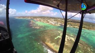 preview picture of video 'Saint-Francois, Guadeloupe from the Sky'