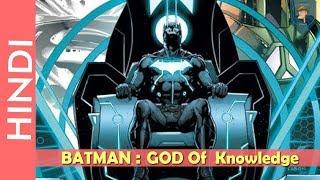 BATMAN : GOD OF KNOWLEDGE Explain In HINDI/DC Comics In Hindi[Darkseid War]
