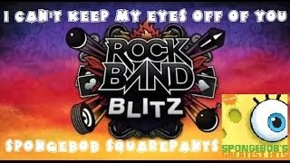 SpongeBob SquarePants - I Can't Keep My Eyes Off of You - Rock Band Blitz Playthrough (5 Gold Stars)