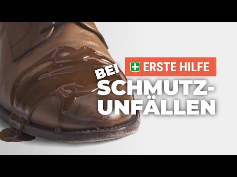 Schuh in Not: Erste Hilfe bei Schmutzunfällen