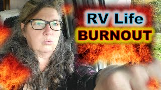 How to Avoid RV Life BURNOUT