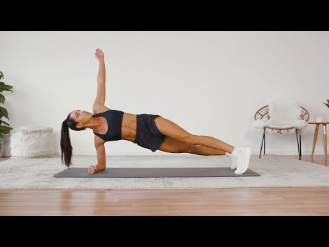 KaylaItsines's 4-Week No-Equipment Workout Plan, Weeks2and4: 28-Minute Arm and Ab Workout