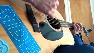 Vapour Trail - RIDE - Acoustic guitar cover