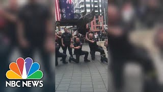Watch New Zealand Firefighters Perform Haka To Honor 9/11 First Responders | NBC News