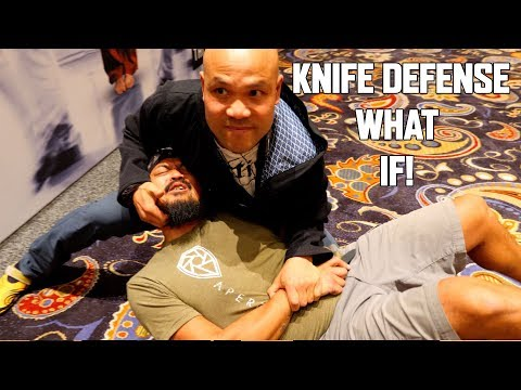 Knife Defend with Funker Tactical | Master Wong