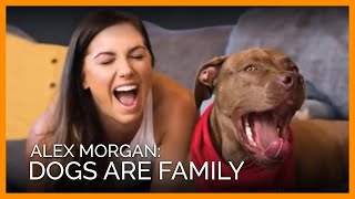 Soccer Champ Alex Morgan and Dog Blue Star in Sweet Adoption Video