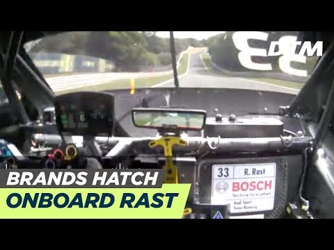 DTM Brands Hatch 2019 - René Rast (Audi RS 5 DTM) - RE-LIVE Onboard (Race 2)