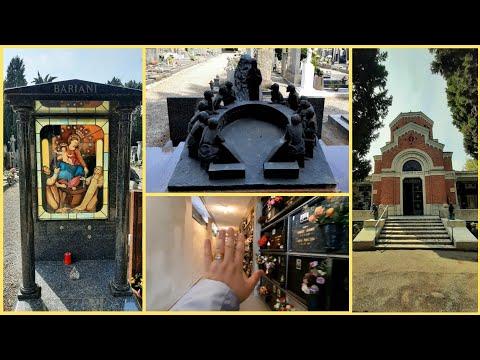 4) КЛАДБИЩЕ в Италии 🔹️ Часть 2 🔷️ Милан, Провинция С.С.Джованни 🔹️ Знакомство. Церковь.Символ ОМЕГА