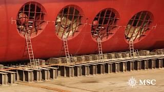 MSC Meraviglia: Ein Schiff erwacht zum Leben
