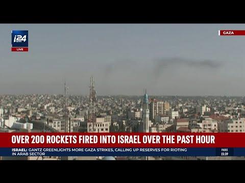 Inside Israeli Home Hit by Hamas Rocket Fire