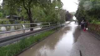 preview picture of video 'Hochwasser 2.6.2013 Lkrs Ebersberg und Erding: Markt Schwaben, Ottenhofen, Full HD 1080p'