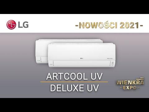 Klimatyzatory pokojowe LG Artcool UV i LG Deluxe UV | Nowości 2021