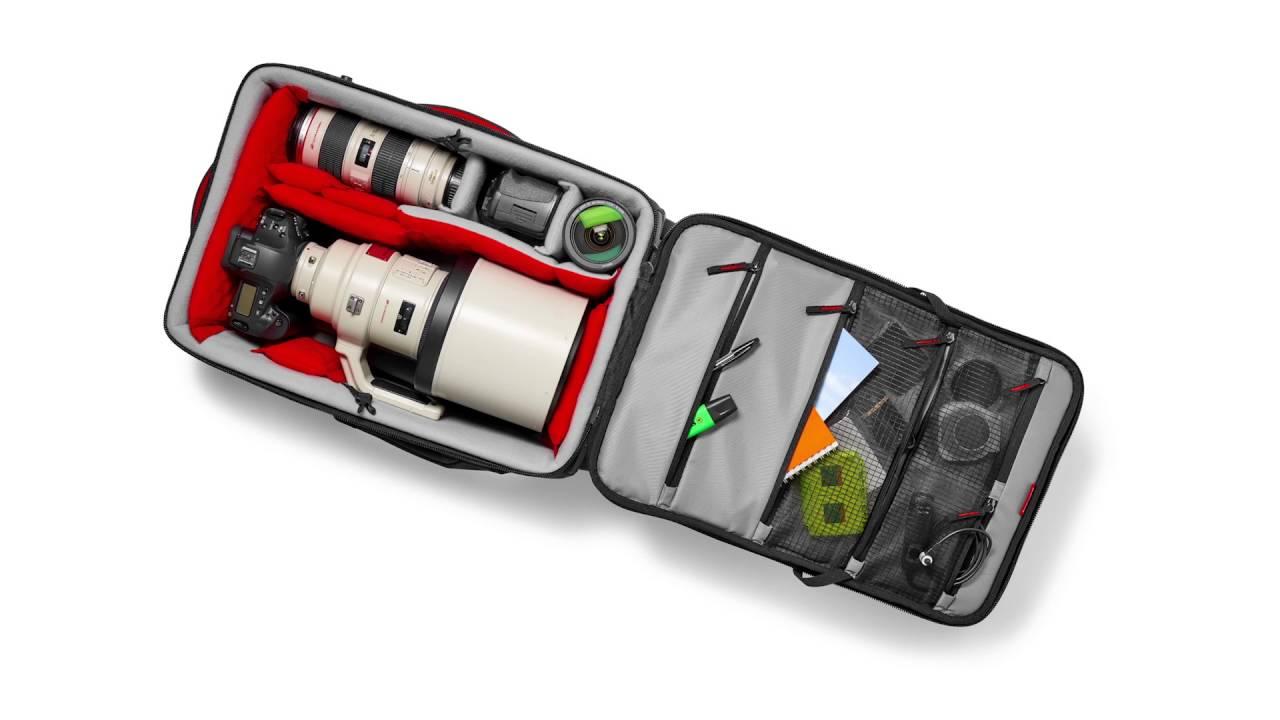 תיק על גלגלים למצלמת ווידאו  Pro Light Reloader-55