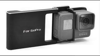 Распаковка монтажная плита крепление для Gopro на трёх осевой стабилизатор