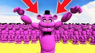 SHADOW FREDDY ARMY IN GTA 5! (GTA 5 Mods For Kids FNAF Funny Moments)