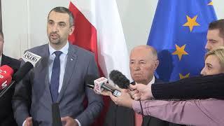 M. Pęk, M. Seweryński – Konferencja prasowa Senatorów PiS w Senacie