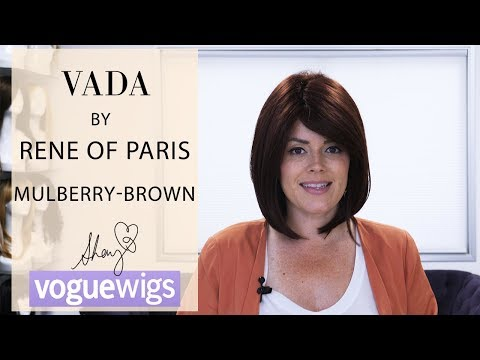 Vada by Rene of Paris in Mulberry Brown | Voguewigs | Shay's Reviews