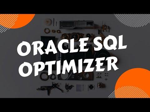 Oracle SQL Optimizer Overview   Query Optimizer Concepts