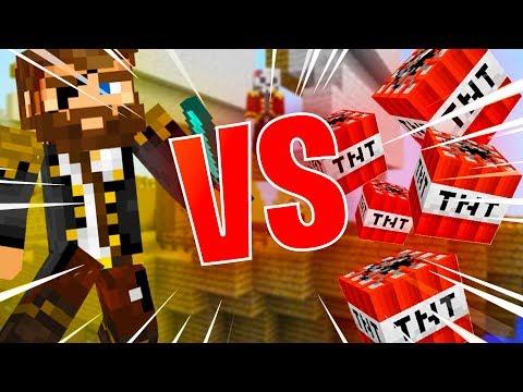 Pleskám PIRÁTY v Minecraftu
