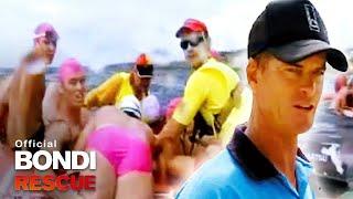 Mass Bluebottles attack hundreds at Bondi! | Bondi Rescue