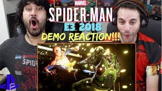 Marvel's SPIDER-MAN (PS4) – E3 2018 Demo GAMEPLAY TRAILER - REACTION & REVIEW!!!