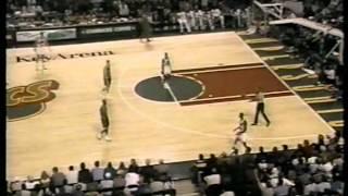 95/96 Chicago Bulls vs Seattle Supersonics (26.11.1995.)
