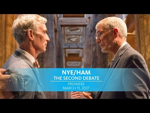 Nye/Ham: The Second Debate Premiere