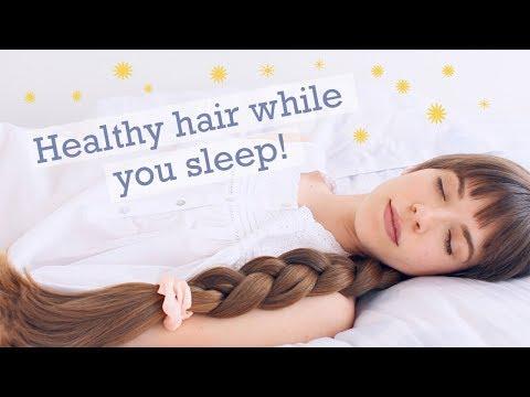 PROTECTIVE SLEEP HAIRSTYLES! Haircare tips for healthy & beautiful hair!