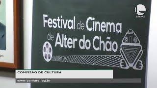 Cultura - Comissão de Cultura debate cinema em Alter do Chão - 19/08/2019 14:00