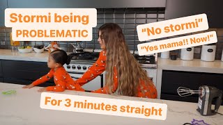 Stormi Webster being PROBLEMATIC for 3 minutes straight