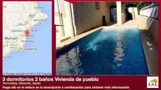 preview picture of video '3 dormitorios 2 baños Vivienda de pueblo se Vende en Torrevieja, Alicante, Spain'