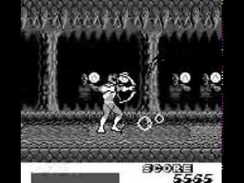 Mighty Morphin Power Rangers Game Boy