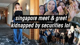 Singapore Meet & Greet, Kidnapped by Securities, Momma QQ Cried | DTV #52