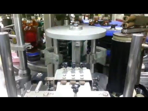 Automatic Rotary Labelling Machine