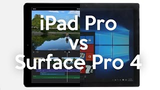 One to One: Surface Pro 4 vs iPad Pro