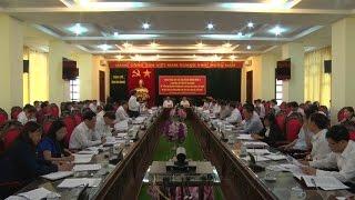 Đoàn khảo sát Ban Chỉ đạo đề án Trung ương 6 làm việc với tỉnh Hà Giang