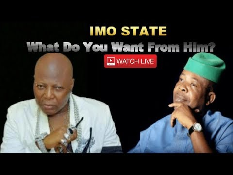 Imo State: Tell Governor Ihedioha What You Need - Live Media Chat With Charly Boy