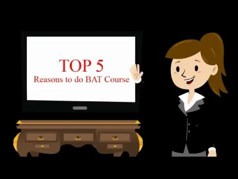 Benefits of doing Business Accounting Taxation BAT Course ...