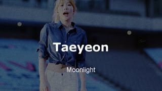 kim taeyeon - moonlight [en]