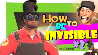 TF2: How To Be Invisible #2 [FUN/F2P]