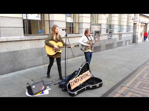 Busking in Nottingham - Chocolate by The 1975 (cover)