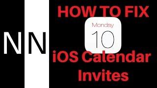 How to Fix Unwanted iOS Calendar Invites