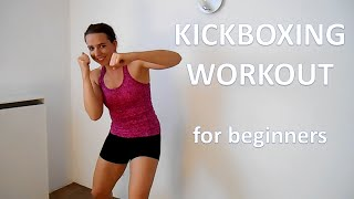 Kickboxing Workout For Beginners – 20 Minute Cardio Kickboxing Workout Routine For Weight Loss At Ho by FitnessType