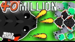 40 MILLION XP BLACK DRAGON // BIGGEST BLCK DRAGON EVER // Mope.io