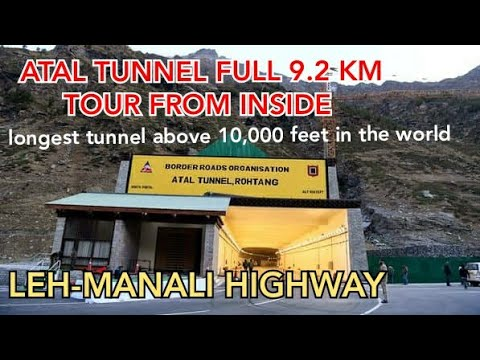 ATAL Tunnel full tour 9.2 km with Own vehicle | Rohtang Tunnel | Himachal Pradesh