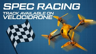 FPV Drone Racing Training #05 - Spec Training / Track Design