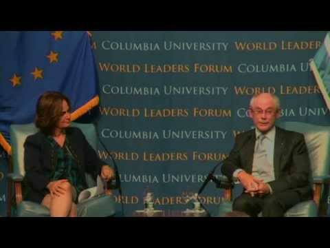 World Leaders Forum: Herman Van Rompuy, President of the European Council