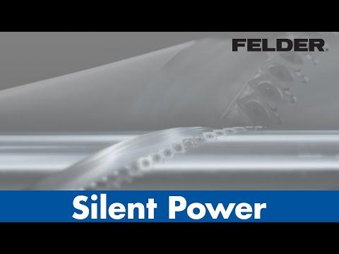 Silent-Power® – Vergleich Spiralmesser-Hobelwelle – Felder Hobelmaschinen